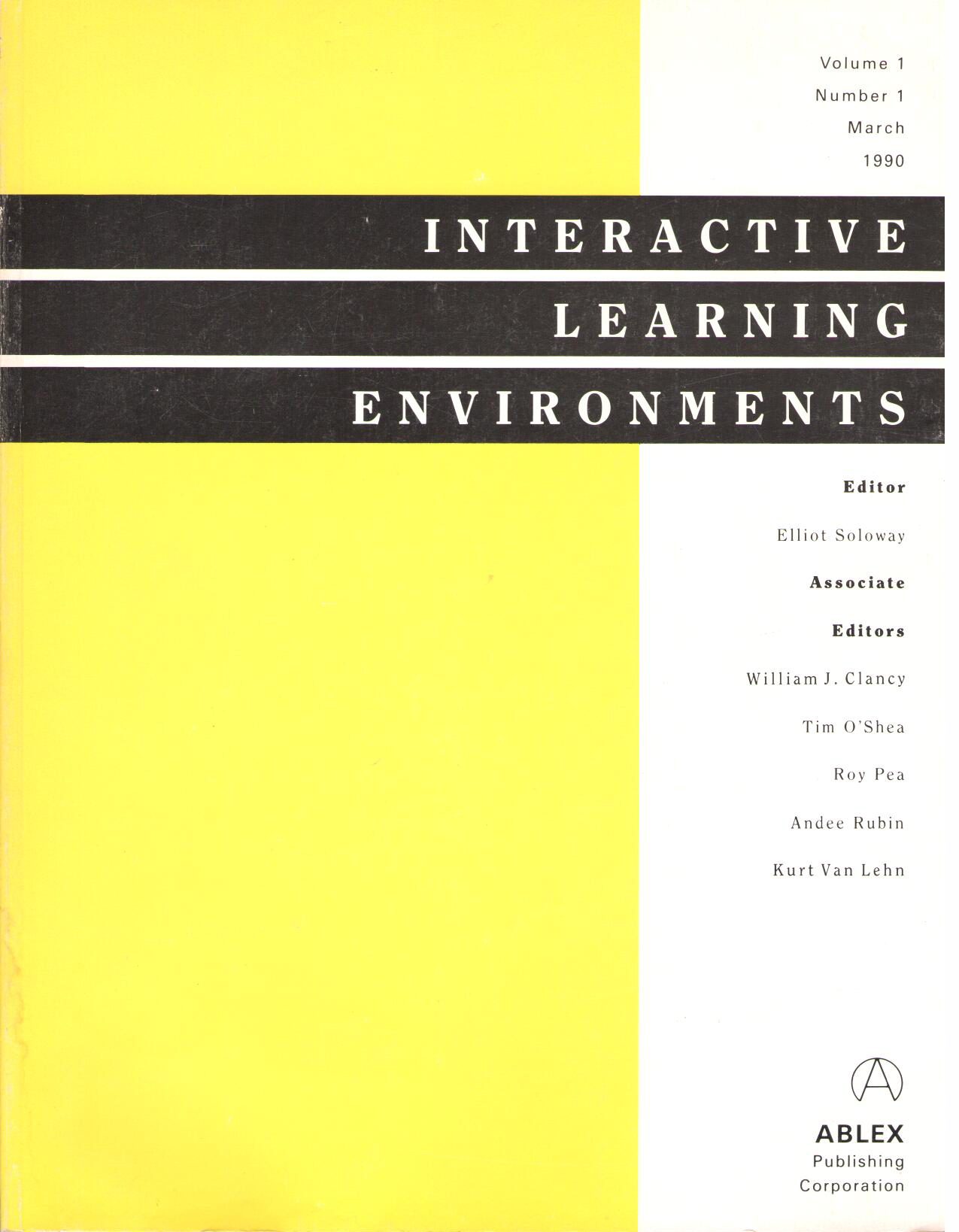 Interactive Learning Environments